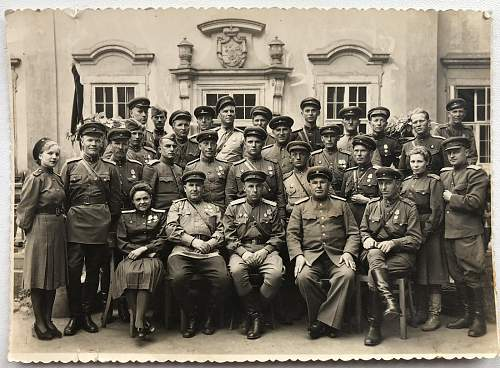 Group of Soviet officers