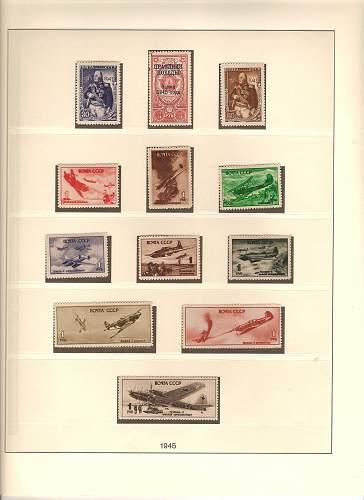 Russian war stamps
