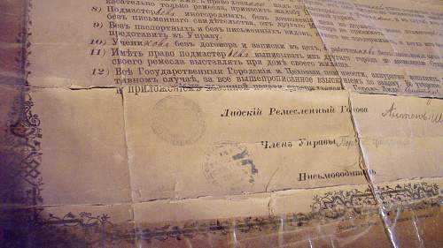 Russian Documents from local family. Help, please...