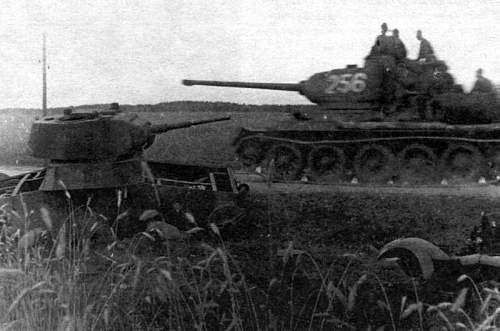 Click image for larger version.  Name:tank lost in the beginning of 1941 retreat, partner of Red Army misfortunes of the first years o.jpg Views:94 Size:146.2 KB ID:214106