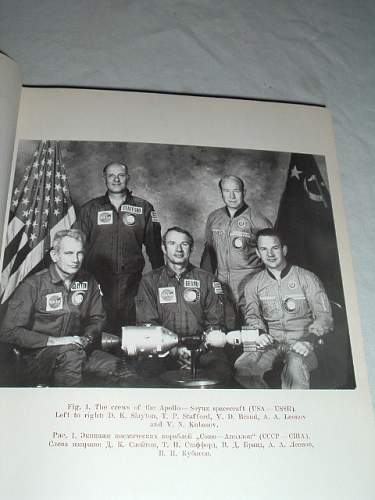 Official SIgned Report of the Apollo Soyuz Mission