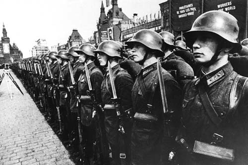 Early Soviet Red Army pics: 1930's to 1941