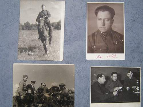 Photo album of the chief of political section of n-army Korol'yov
