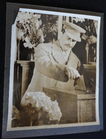 1938 Photo of Stalin