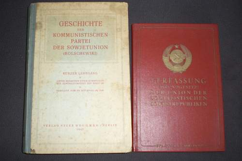 Russian Books printed Berlin1945&Liepzig47