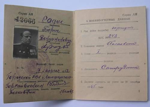 Soviet Identification of some sort?