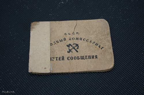 1935 and 1939 Russian soldiers ID?