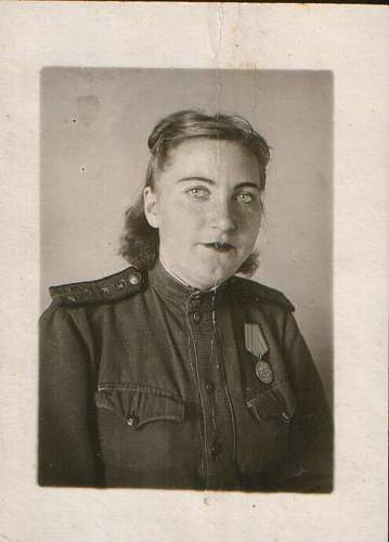 Females in the service in RKKA, period pictures