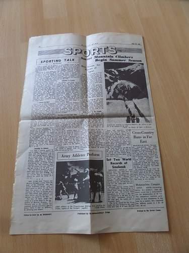 Interesting Russian Newspaper