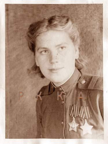 Click image for larger version.  Name:Sgt. Rosa Egorovna Shanina 1944.jpg Views:160 Size:117.2 KB ID:794938