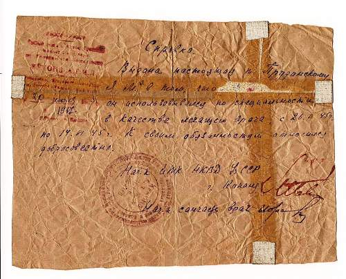 Click image for larger version.  Name:Soviet 1945 document.jpg Views:180 Size:254.6 KB ID:80475