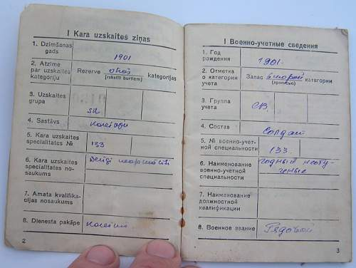 Some help with Soviet Identification Card