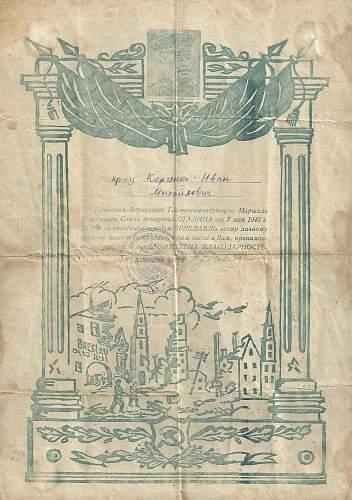 """""""Gratitude"""" Certificates"""
