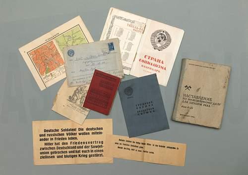 Translation Belarusian trade union membership booklet