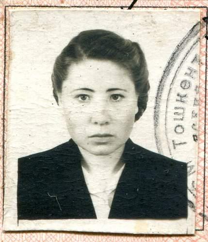 Click image for larger version.  Name:Anna Ivanovana Shorokhova,  March, 1956.jpg Views:8 Size:153.5 KB ID:880875
