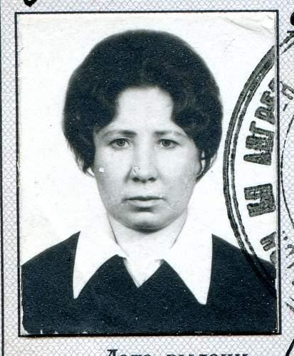 Click image for larger version.  Name:Anna Ivanovana Shorokhova, July, 1974.jpg Views:9 Size:216.3 KB ID:880876