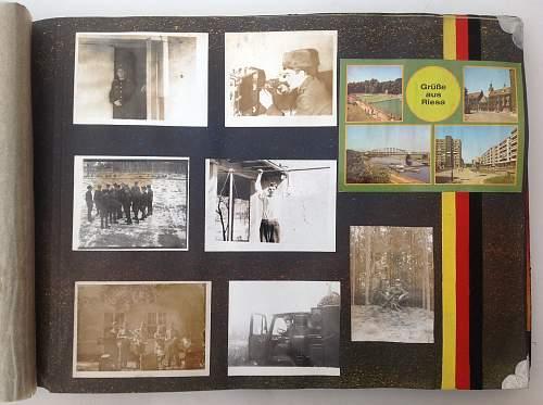 Soviet soldiers photo album DDR 1988