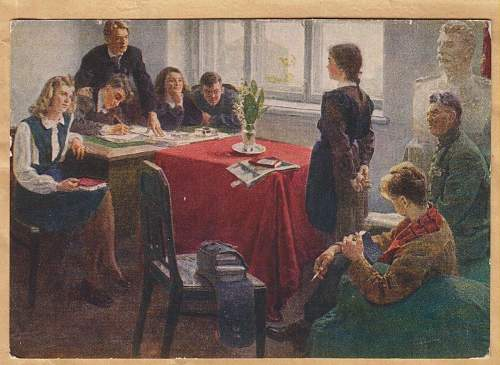 Click image for larger version.  Name:Admission to the Komsomol - 1954.jpg Views:4 Size:287.2 KB ID:984739