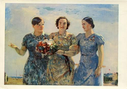 Click image for larger version.  Name:Polina Denisovna Osipenko, Valentina Stepanovna Grizodubova, & Marina Mikhailovna Raskova.jpg Views:75 Size:264.8 KB ID:989866