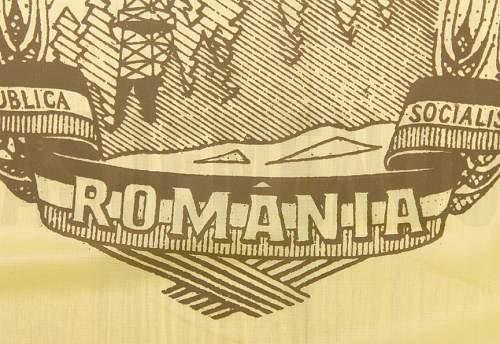 Flag of the Socialist Republic of Romania