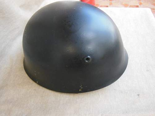 Unknown helmet possibly from Bulgaria