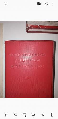 Mao's communist china and his little red book