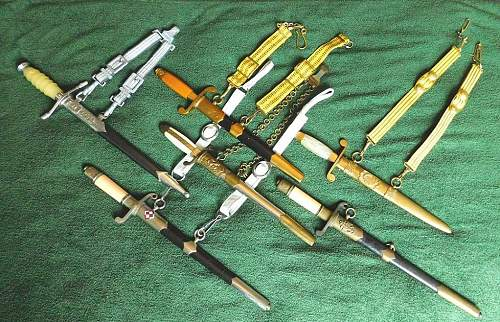 Warsaw Pact daggers