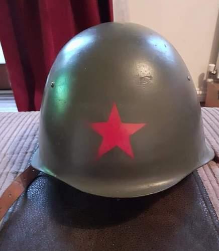 Strange export Polish WZ50 helmet