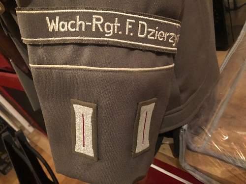 Stasi uniform end of 60's