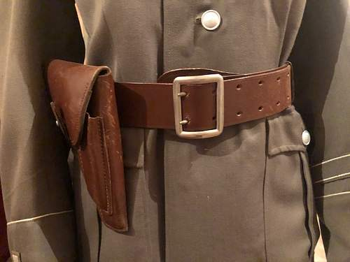 Stasi uniform end of 60's