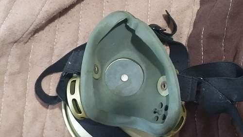 JNA Yugo respirator?