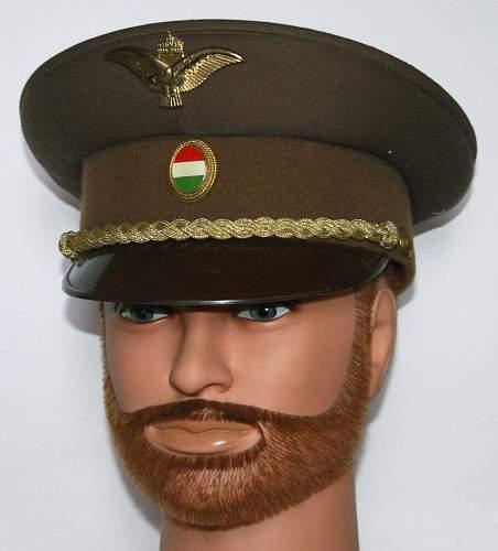 Hungarian Air Force visor