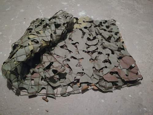 JNA YPA MMS M-68 camo netting for the shooter