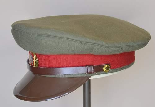 Czechoslovakian Visor Cap
