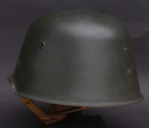 """M 54  Helmet  KVP   """"Kessler Bombe """""""