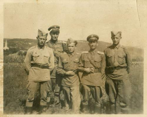 Old Family Photo - Hungary 1940s Military -  any information please?