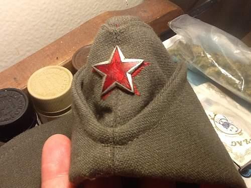 Croatian Soviet side cap