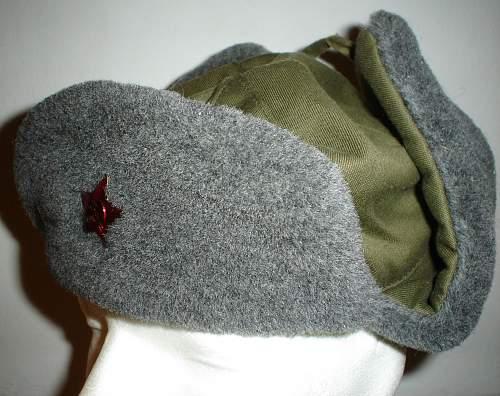 strange czech fur cap