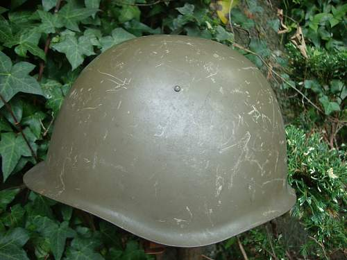Czech Helmets with covers.