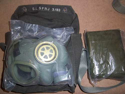Jugoslovenska civilian gas mask