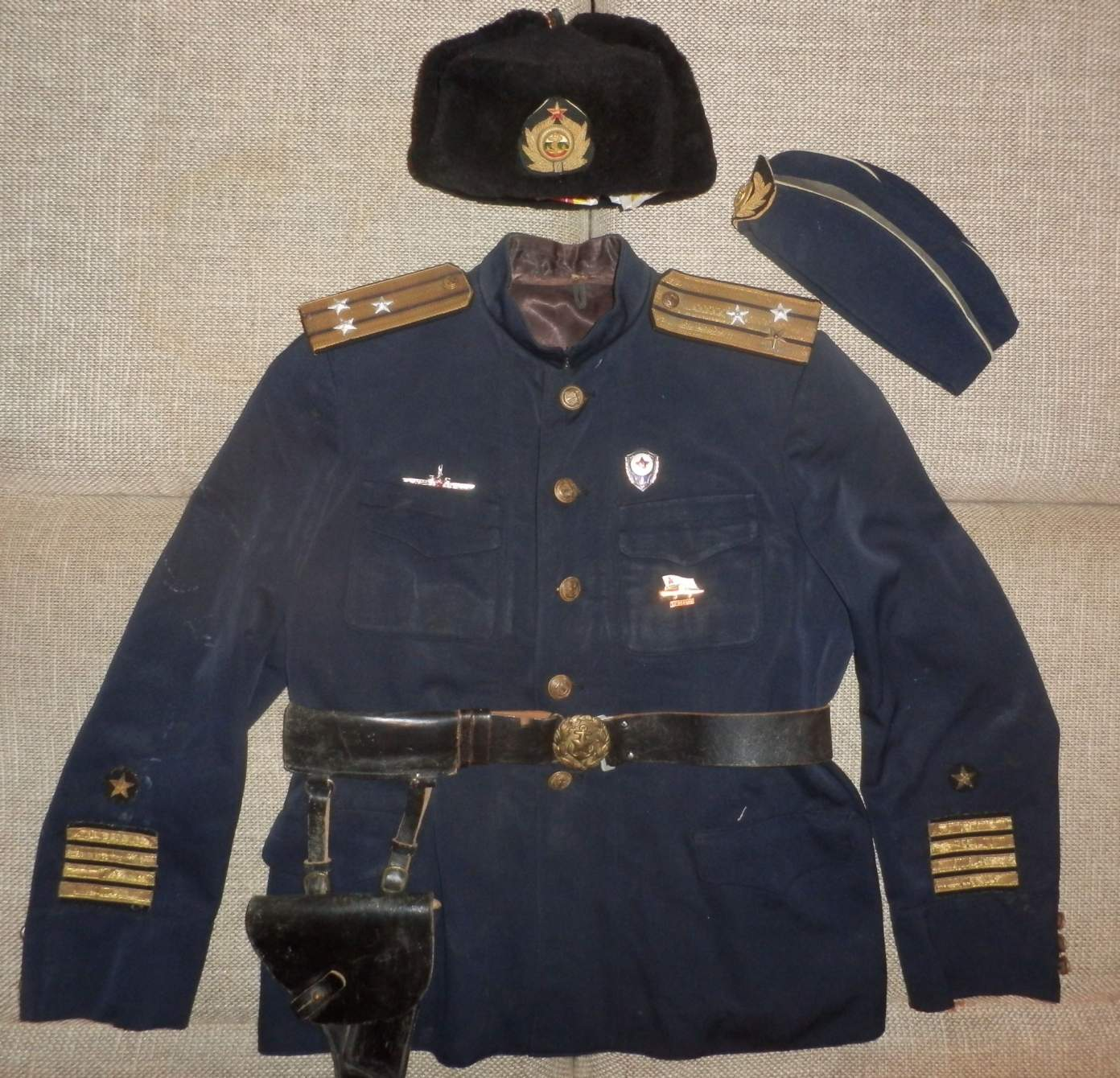 Submarine Uniform 120