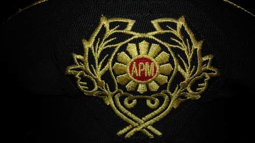 Macedonian Officers Visor cap