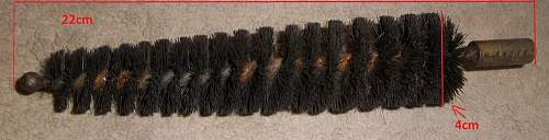 Field Equipment And Accessories - cleaning brush