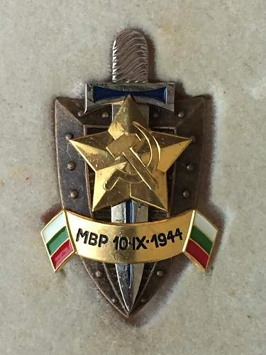 Bulgarian Secret Service Crest?