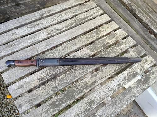 Refurbished SMLE Mk III Bayonet Stampings (Australia)