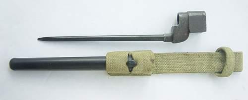 No. 4 MK2 Spike Bayonet