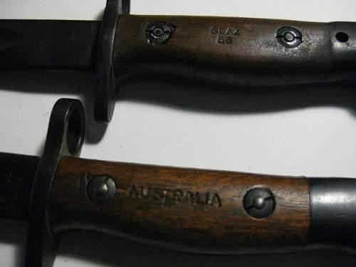Australian Bayonets