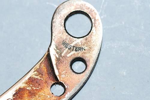 WWII USN/UAAF Survival Raft Knife
