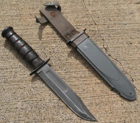 Standard issue knife or custom field made?