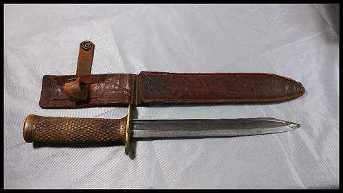 WW2 U.S. Fighting Knife ?